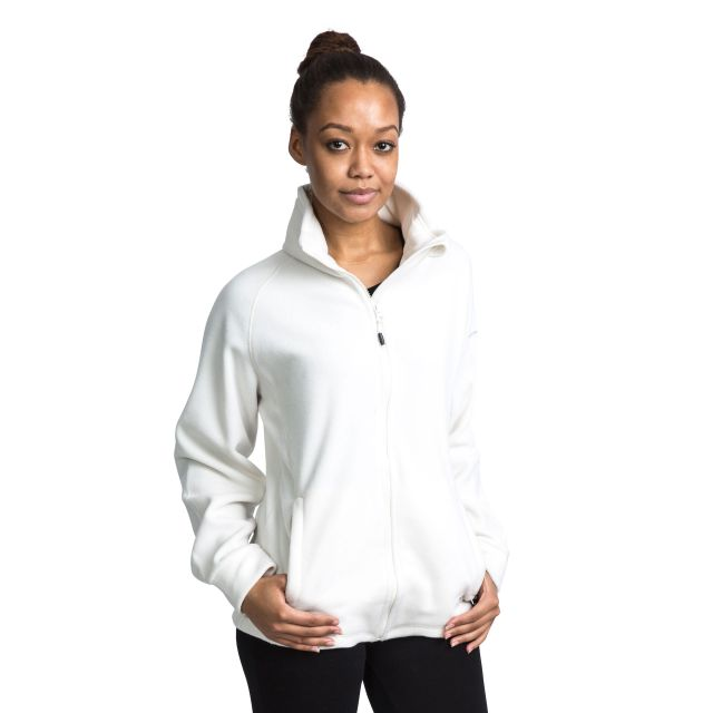 Clarice Women's Fleece in White