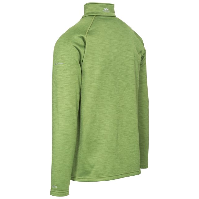 Collins Men's 1/2 Zip Fleece in Green