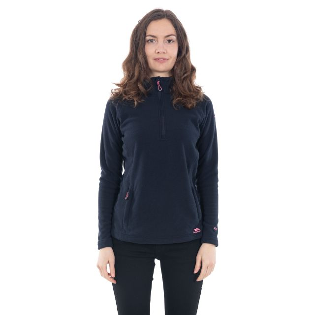 Commotion Women's 1/2 Zip Fleece in Navy
