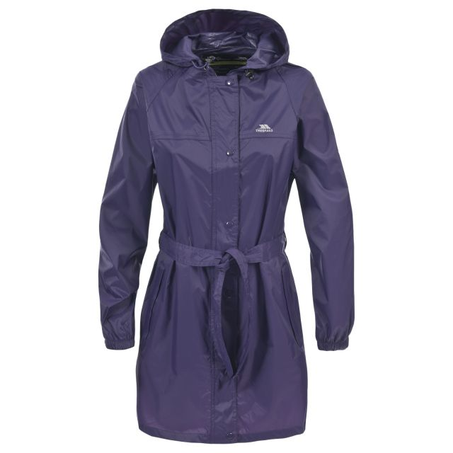 Compac Mac Women's Waterproof Packaway Jacket in Purple