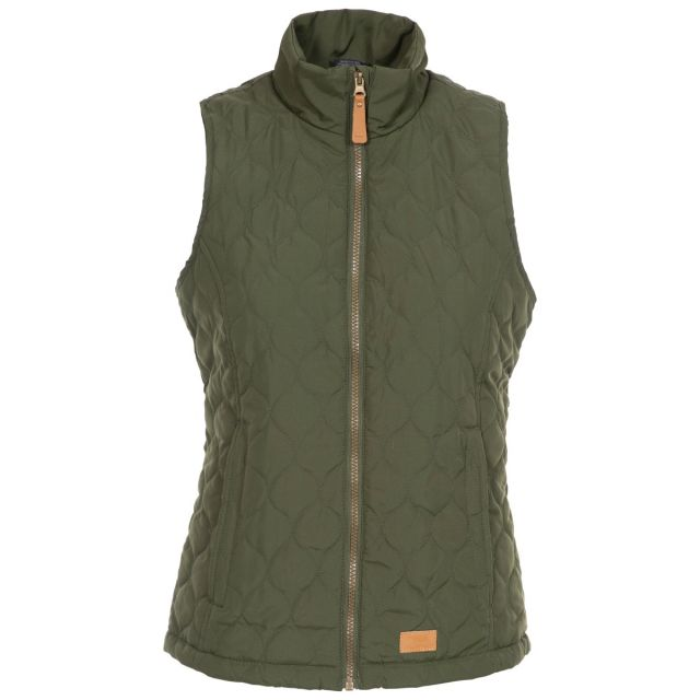 Companion Women's Padded Quilted Gilet - KHA