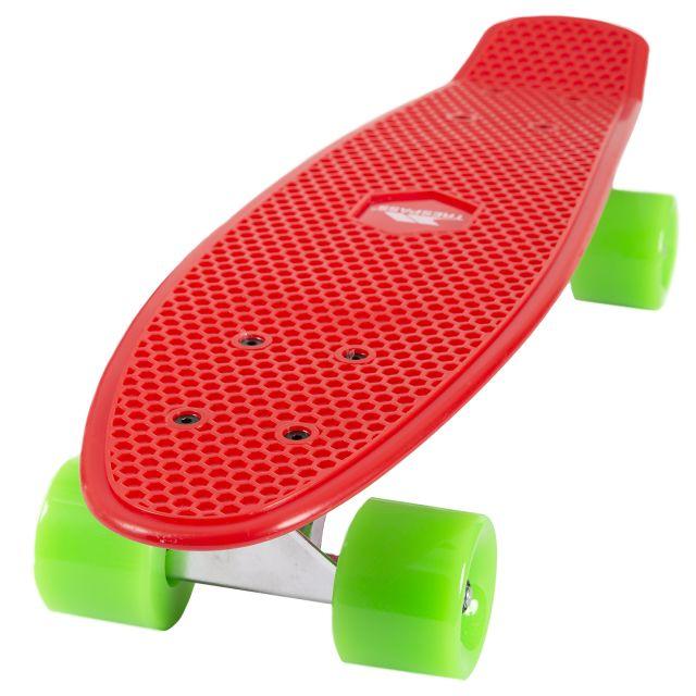 Retro Skateboard in Red