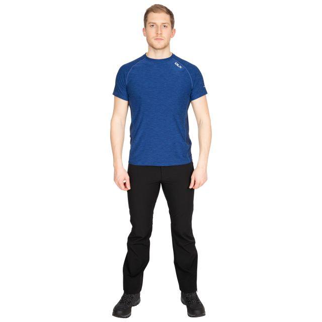 Cooper Men's DLX Active T-Shirt in Blue