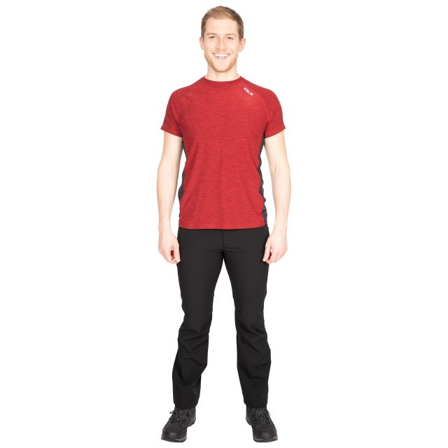 Cooper Men's DLX Active T-Shirt in Red