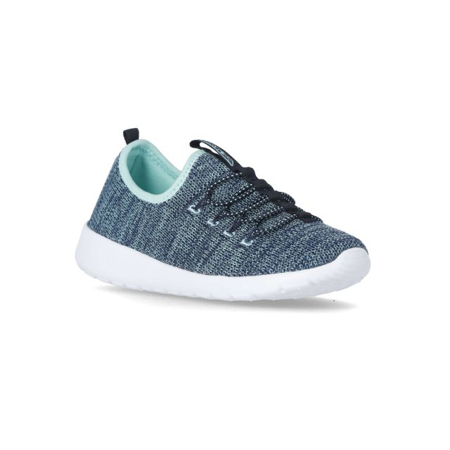 Cordero Women's Lightweight Memory Foam Trainers in Blue