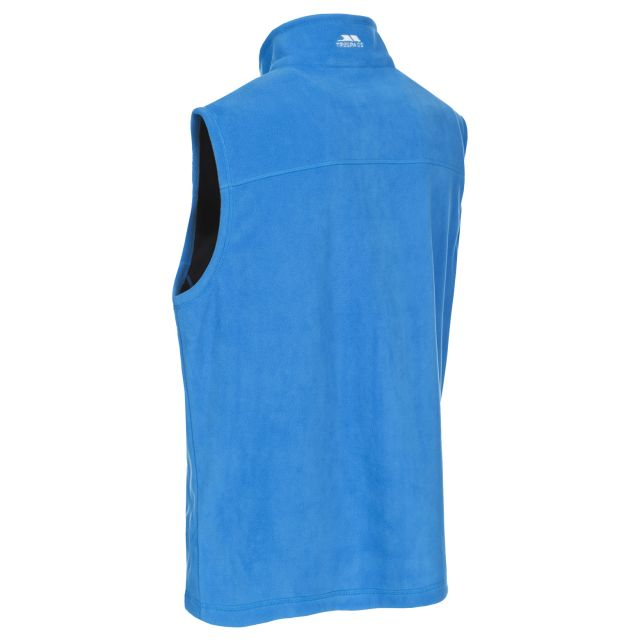 Cordoba Men's Fleece Gilet Jacket in Blue