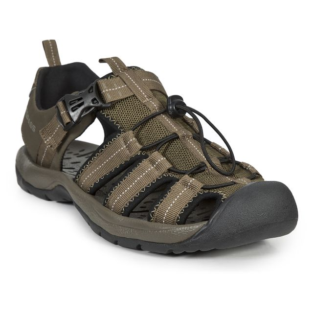 Cornice Men's Walking Sandals in Khaki
