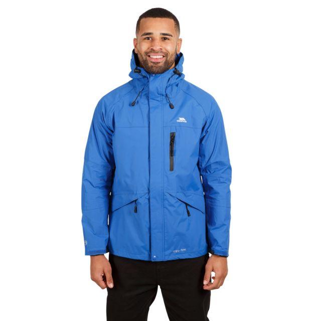 Corvo Men's Waterproof Windproof Jacket in Blue
