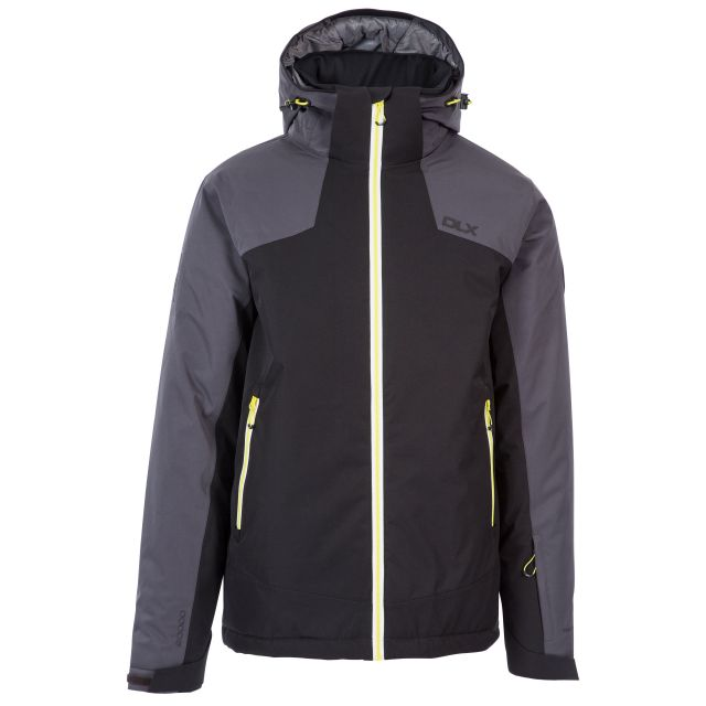 Coulson Men's DLX Waterproof RECCO Ski Jacket in Black