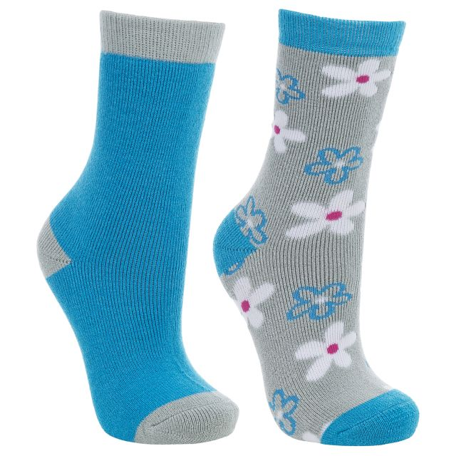 COZY Kids Hiking Socks in Turquoise