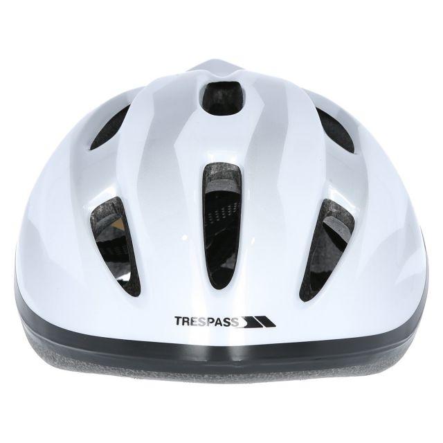 Cranky Kids' Bike Helmet in White