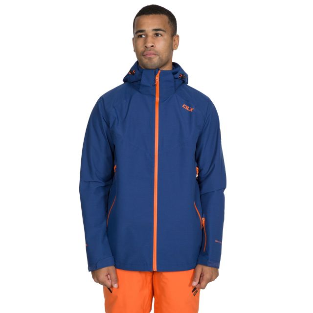 Crompton Men's DLX Waterproof Ski Jacket in Navy