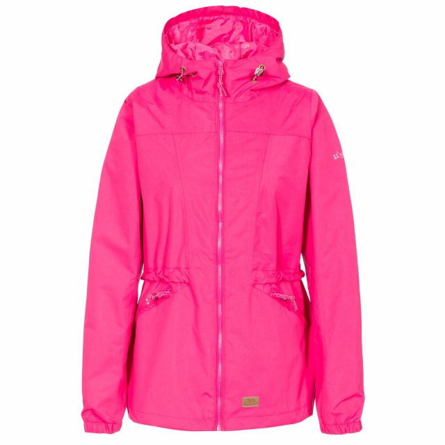 Cruella Women's Windproof Waterproof Jacket in Pink