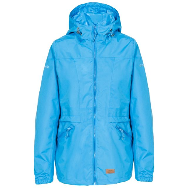 Trespass Womens Waterproof Jacket Windproof Cruella Blue