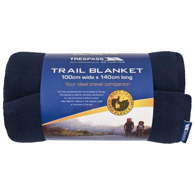 Fleece Blanket 100 x 140cm in Navy