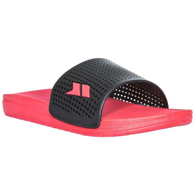Cusp Mens Slide Summer Sandals in Black