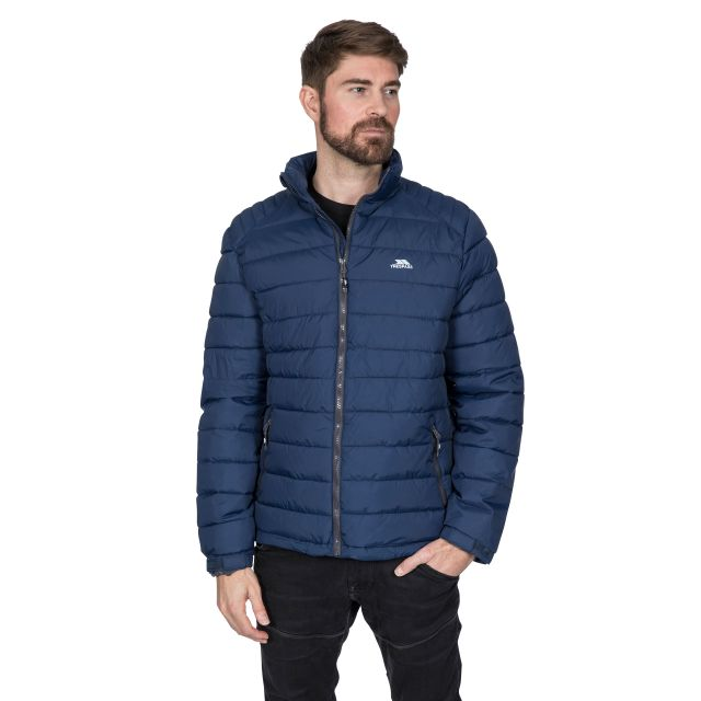 Darrell Men's Padded Casual Jacket in Navy