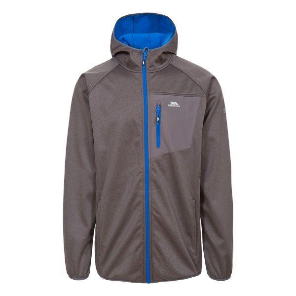 Dayton Men's Softshell Jacket in Grey
