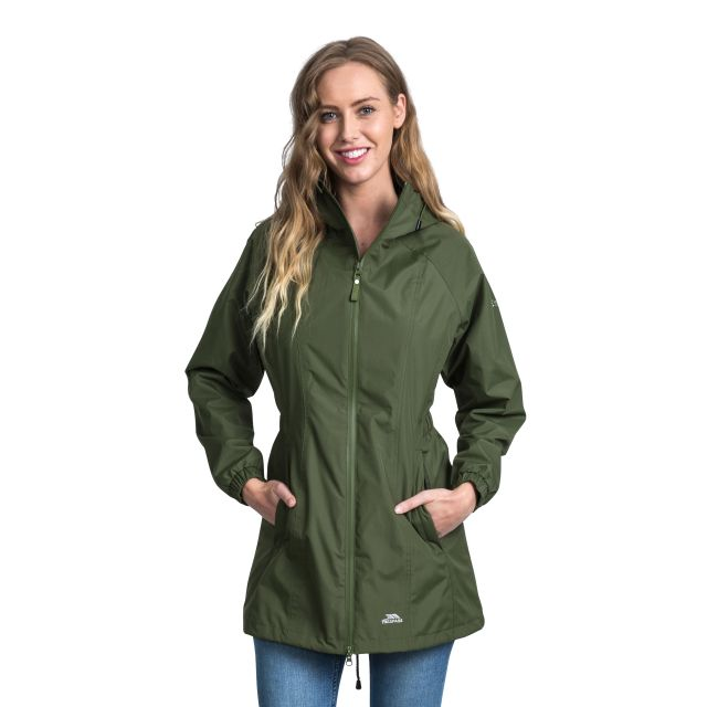 Daytrip Women's Waterproof Jacket in Khaki
