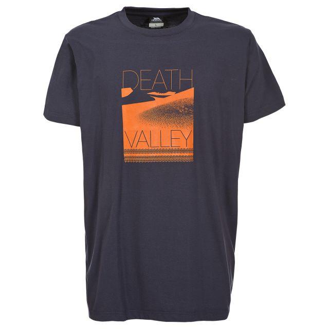 Deathvalley Men's Printed Lightweight T-shirt in Black