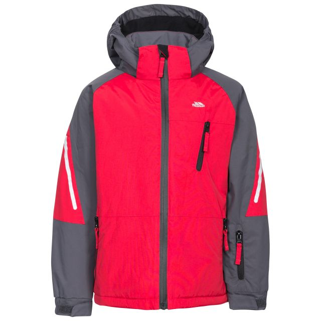 Debunk Boys' Ski Jacket - RED