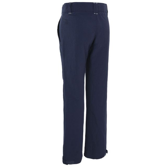 Trespass Kids Walking Trousers UV40+ Fully Lined Decisive Navy