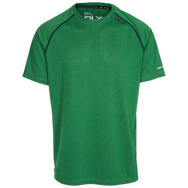 Deckard Men's DLX Quick Dry Active T-shirt in Green