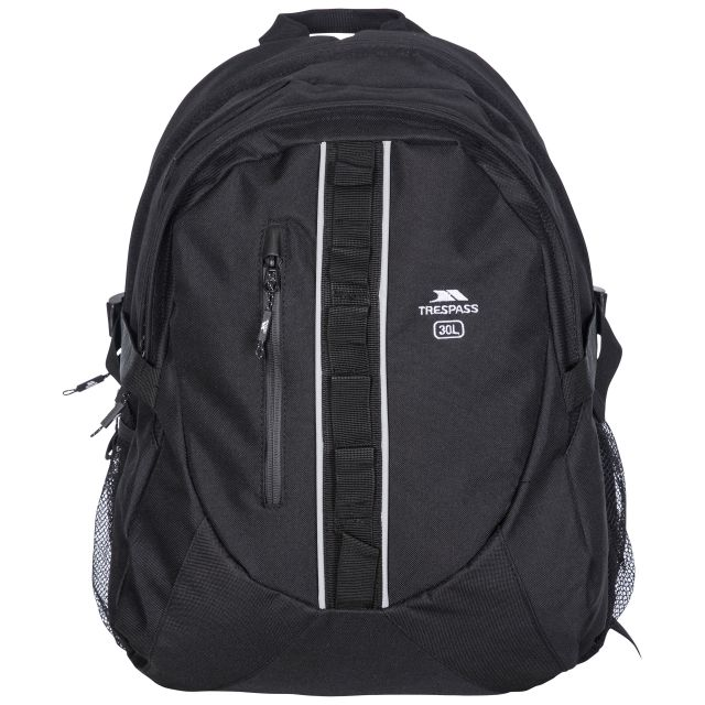 Deptron 30L Laptop Backpack in Black