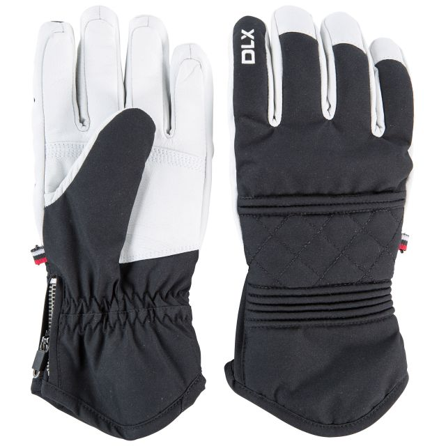 Derigi DLX Unisex Waterproof Gloves in Black