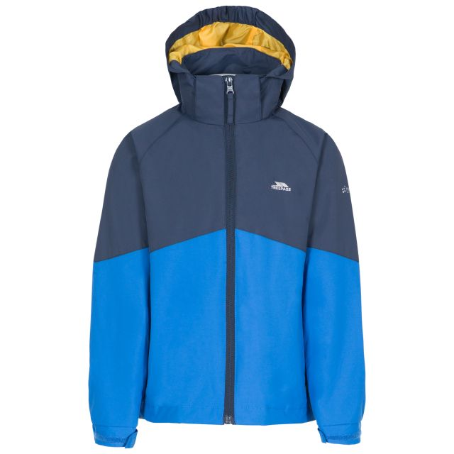 Dexterous Kids' Waterproof Jacket in Navy