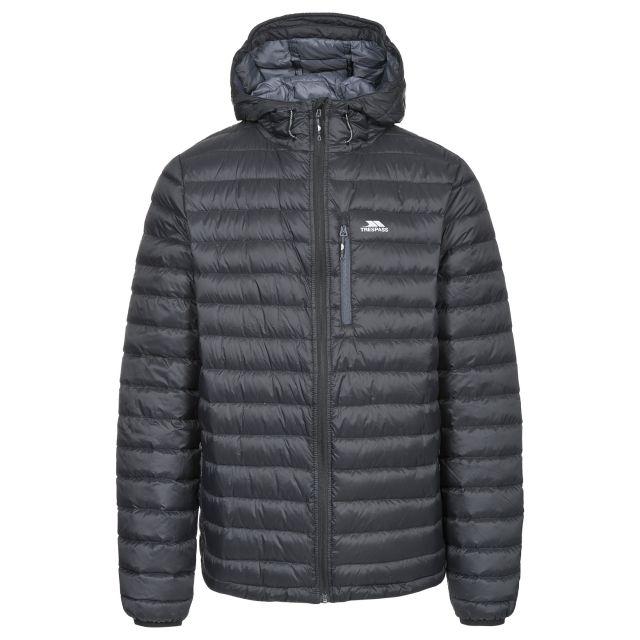 Digby Men's Down Packaway Jacket in Black