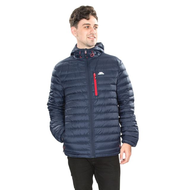 Digby Men's Down Packaway Jacket in Navy