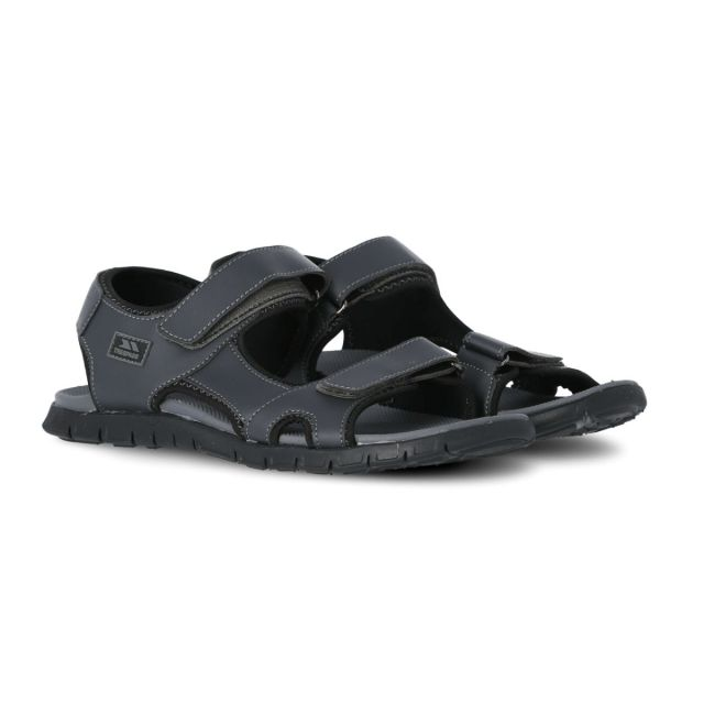 Dilton Men's Trekking Sandals in Grey