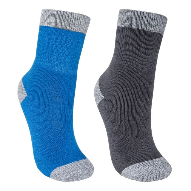 Dipping Kids' Walking Socks - 2 Pack in Blue