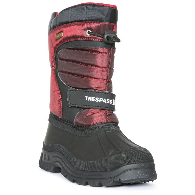 Huskie Youths' Snow Boots in Red