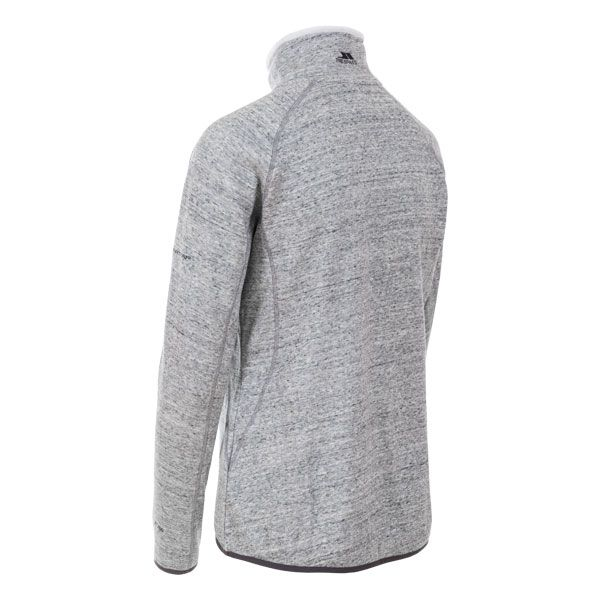 Doreen Women's 1/2 Zip Fleece in Light Grey