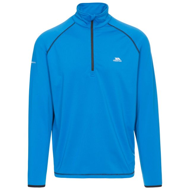 Dougall Men's Quick Dry Active Top in Blue