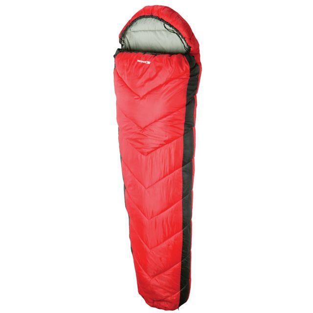 Doze 3 Season Water Repellent Sleeping Bag - RED