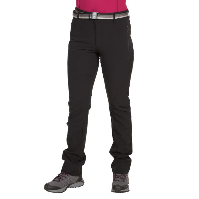 Drena Women's DLX Walking Trousers in Black