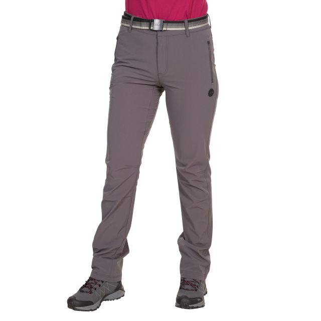 Drena Women's DLX Walking Trousers in Grey