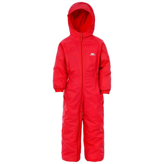 Dripdrop Kids' Rain Suit in Red