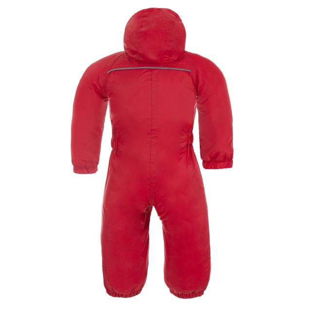 Dripdrop Babies' Rain Suit in Red