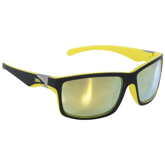 Drop Adults' Sunglasses in Yellow, Front view