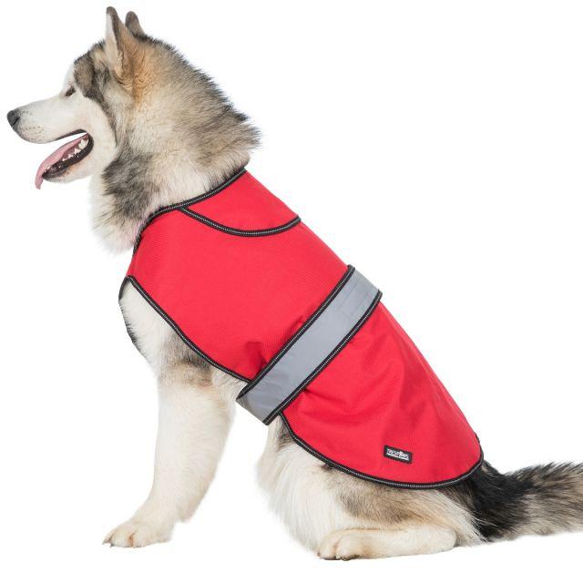 Duke XL 2 in 1 Waterproof Dog Coat in Red
