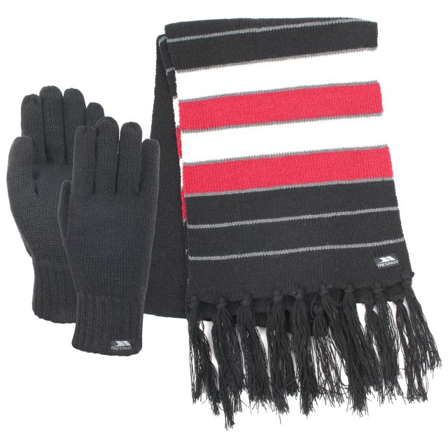 Duo Adults' Scarf Set in Black