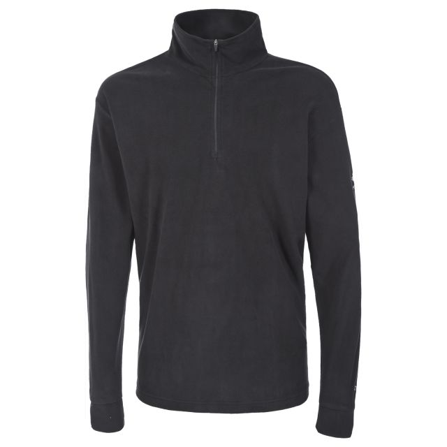 Duty Men's 1/2 Zip Fleece  in Black
