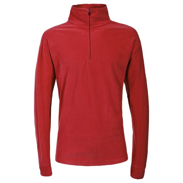 Duty Men's 1/2 Zip Fleece  in Red