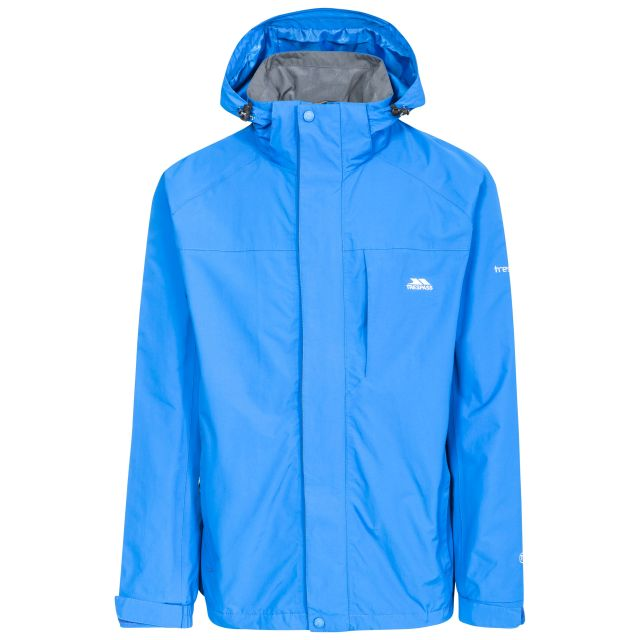 Edwards II Men's Breathable Waterproof Jacket in Blue