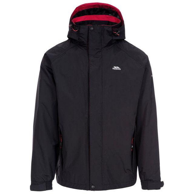 Edwards Men's Waterproof Jacket in Black