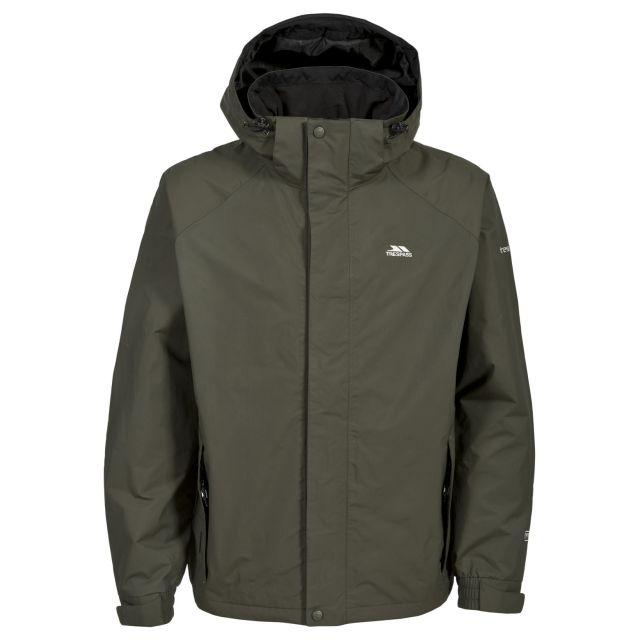 Edwards Men's Waterproof Jacket in Khaki